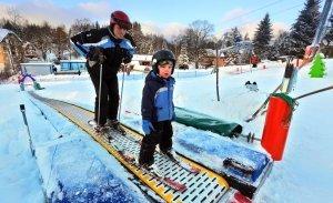 Dětský park - Pohyblivý pás