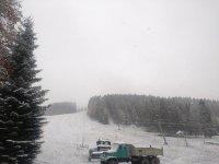 První sněžení