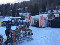 Pozvánka na akci ČEZ s testováním lyží