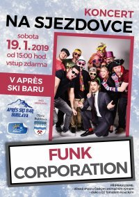 Koncert skupiny Funk Corporation