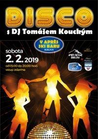 Disco mit DJ Tomas Koutny am Apres-Ski Bar. Wir freuen uns auf Sie am Samstag, den 02.02.2019!