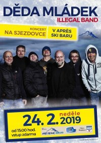Konzert am 24.02.2019 / DĚDA MLÁDEK ILLEGAL BAND