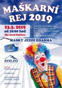 Einladung zum Maskenkarneval am 23.03.2019 ab 10.00 Uhr!