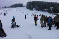 Novoroční veselí na bublavském sněhu