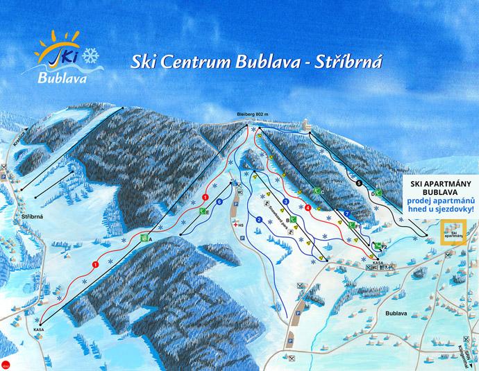 Ski Areál Bublava. map 0e11dc8d1d